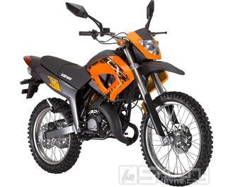 Keeway TX 50 Enduro - barva oranžová