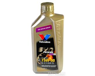 Plně syntetický převodový olej 75W90 Valvoline - 1L