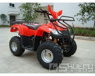 MINI HARD 110 ccm - barva červená