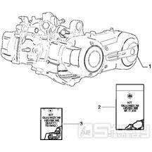 1.02 Motor - Gilera Fuoco 500ccm E3 2007-2013 (ZAPM61100...)