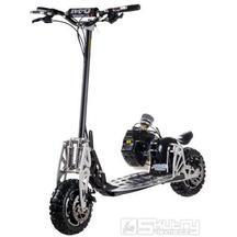 Benzínová koloběžka Nitro scooters XG10 ALLROAD včetně sedla a krytu převodovky