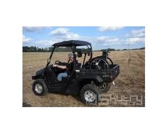 Ruční ovládání pro osoby ZTP - EMU Tractor 500/700