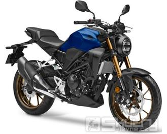 Honda CB300R Neo Sports Café - barva modrá