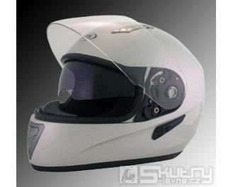 Integrální přilba MAXX H 520 - barva stříbrná, velikost XS