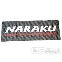 Banner Naraku z vlajkového materiálu o rozměru 200x70cm