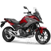 Honda NC750X - barva červená