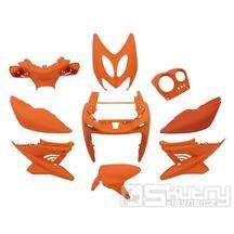 Kapotáž Aerox Nitro - 9 dílů - oranžová matná