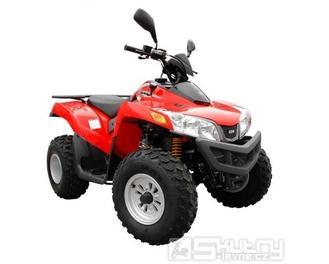 Sym Quadlander 300 onroad - barva červená