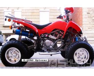 Čtyřkolka Xplorer X1 - barva červená