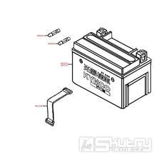 F11 Baterie / pojistka - Kymco People S 50