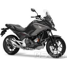 Honda NC750X - barva černá matná