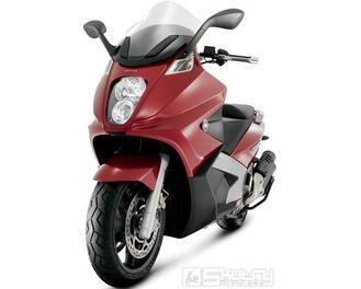 Gilera GP 800 ABS/ASR - barva červená