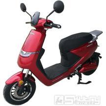 Elektroskútr mpKorado E-SuperMaxi 2000W - barva červená