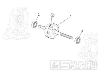 29.30 Kliková hřídel - Scarabeo 50 4T 4V NET 2010 (ZD4TGE00)