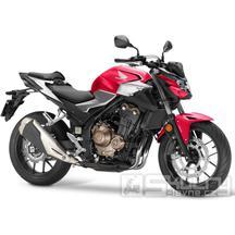 Honda CB500F - barva červená