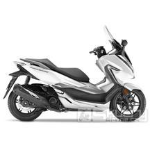 Honda Forza 300 - barva bílá