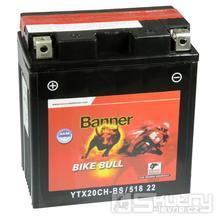 Gelová baterie Banner YTX20CH-BS