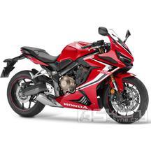Honda CBR650R - barva červená