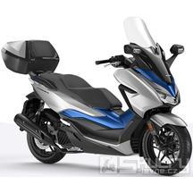 Honda Forza 125 ABS + Smart Key Horní Kufr 45L - barva stříbrná