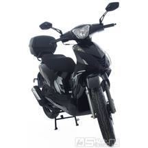 Motorro Trevis 125i Euro4 + kufr a přilba* - barva černá