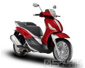 Piaggio Beverly New 125ccm i.e. - model 2013 - barva červená