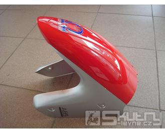 Přední blatník Kingway Euroboy 50ccm - barva červená/stříbrná