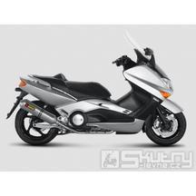 Sportovní výfuk Akrapovič, Carbon - Yamaha T-Max 500