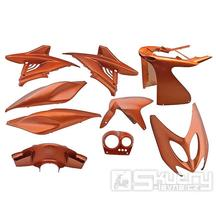Kapotáž Aerox Nitro - 9 dílů - oranžová flipflop