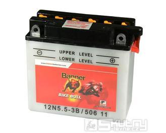 Olověná baterie Banner 12N5,5-3B