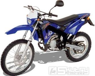 Rieju RRX 50 - barva modrá