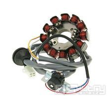 Magneto / stator dobíjení 12 cívek pro Minarelli s Ducati zapalováním (2003-)