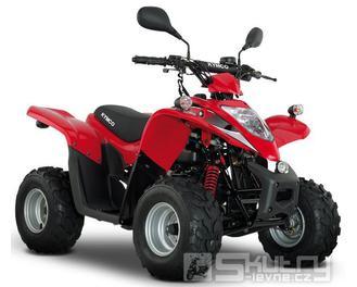 Kymco Maxxer 50 s homologací - předváděcí - barva červená