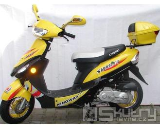 Kingway Coliber SMARTT 50 - barva žlutá