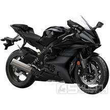 Yamaha R6 - barva černá