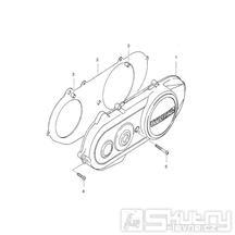 03 Kryt variátoru - Hyosung SB 50 Gamma