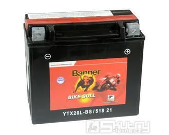 Gelová baterie Banner YTX20L-BS