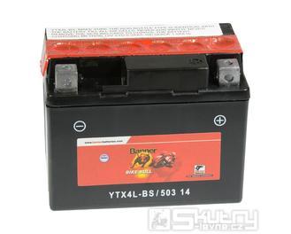 Gelová baterie Banner YTX4L-BS