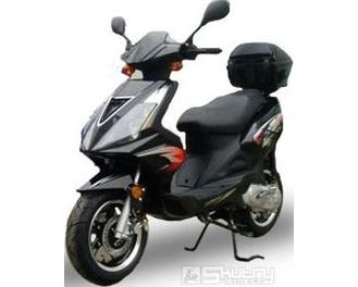 Motorro EAGLE 50 - barva černá