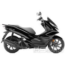 Honda PCX 125i - barva černá lesklá