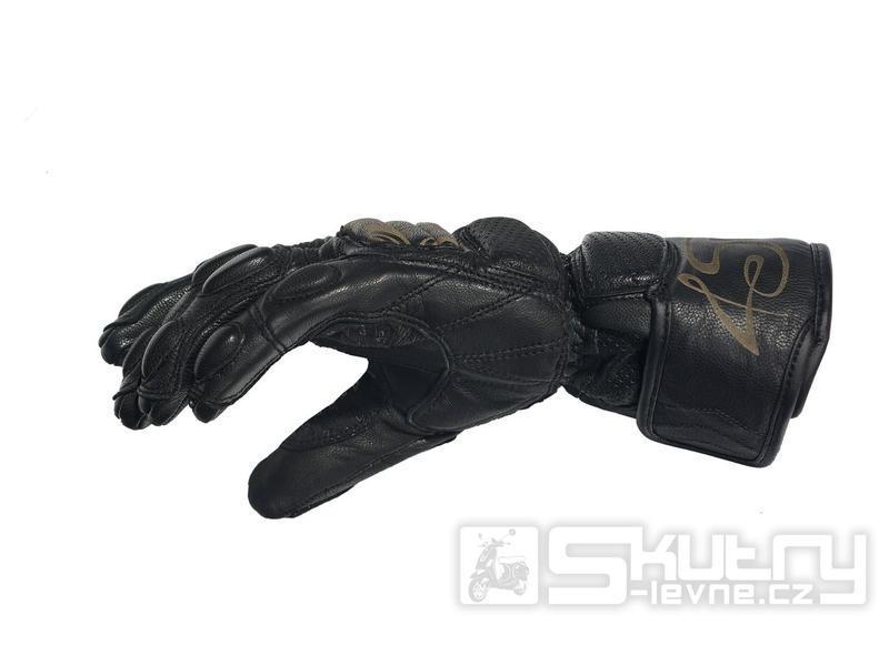 449b64e40f8 ... Moto rukavice 4SR SG Lady - barva černá