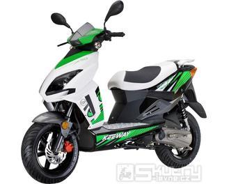 Keeway MATRIX 125 - barva zelená