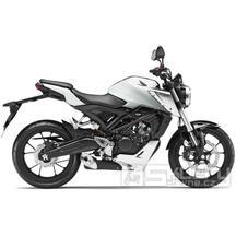 Honda CB125R ABS Neo Sports Café - barva bílá