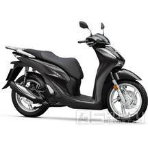 Honda SH 125i ABS E5 Smart top Box - barva černá