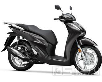 Honda SH 125i ABS + Smart top Box - barva černá