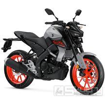 Yamaha MT-125 - barva šedá
