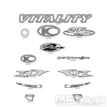 F25 Emblémy - Kymco Vitality 50 2T