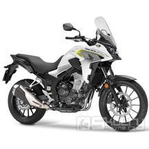 Honda CB500X - barva bílá