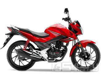 Honda CB125F - barva červená