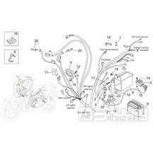 28.29 Elektro součástky - Scarabeo 100 2T (motor Minarelli) 2000 - ZD4REA...