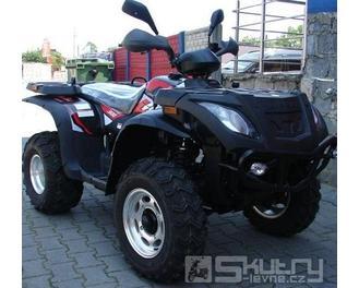Kingway LINHAI 300 4x4 - barva černá